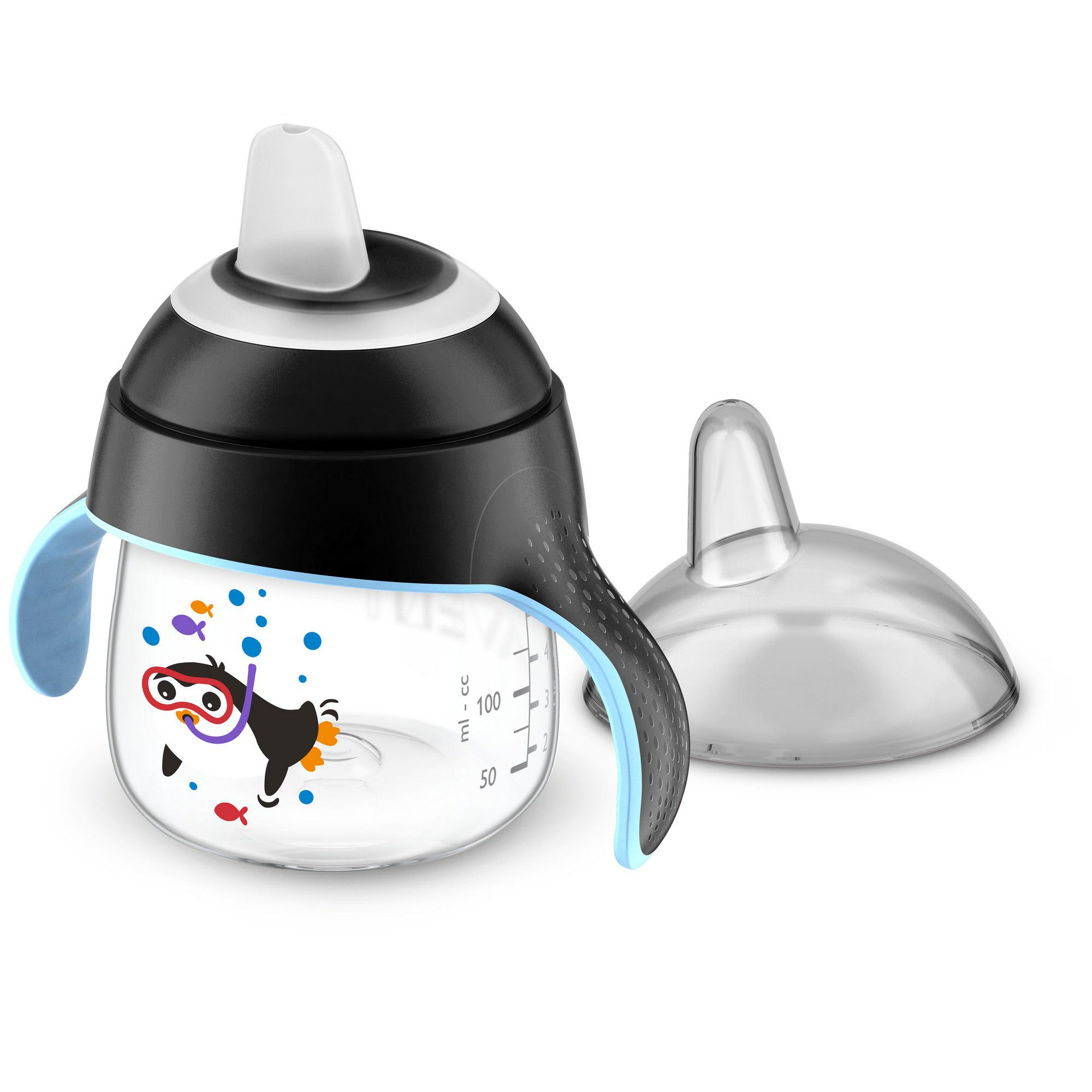 COPO AVENT PINGUIM 200ML 6M+ REF:751/03