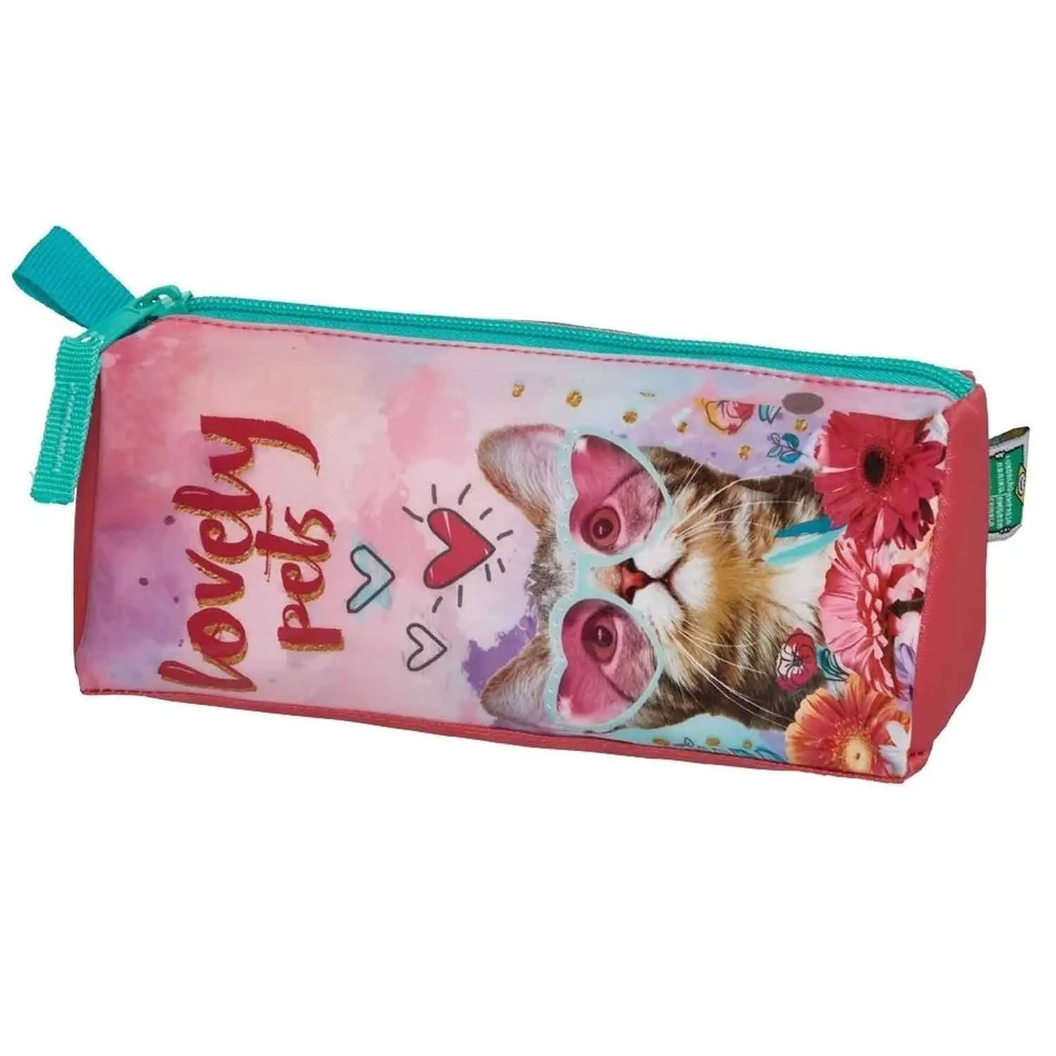 ESTOJO LOVELY PETS COM 1 ZÍPER PACIFIC REF:945B13