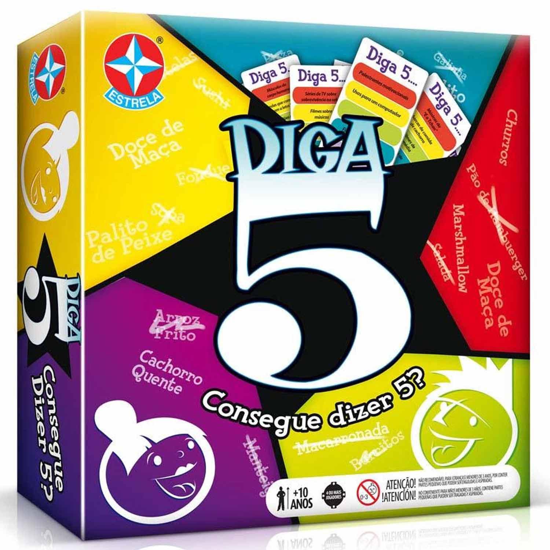 JOGO DIGA 5 ESTRELA +10 ANOS REF:1201602000143