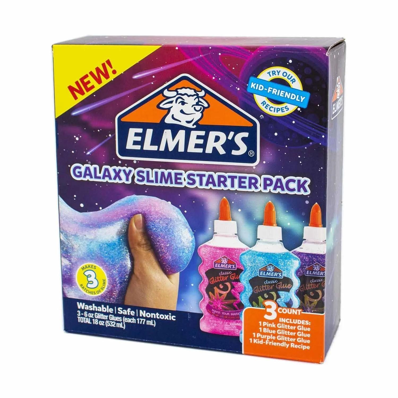 KIT GALAXY COLA GLITTER ELMERS REF:39775 177 ML