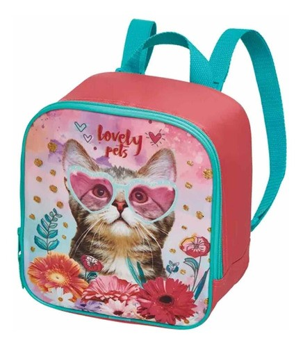 LANCHEIRA INFANTIL LOVELY PETS PACIFIC REF:945B11