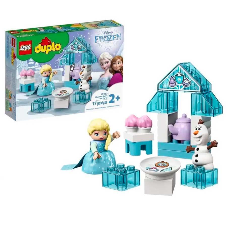 LEGO A FESTA DO CHÁ DA ELSA E DO OLAF LEGO REF:10920 2 ANOS+