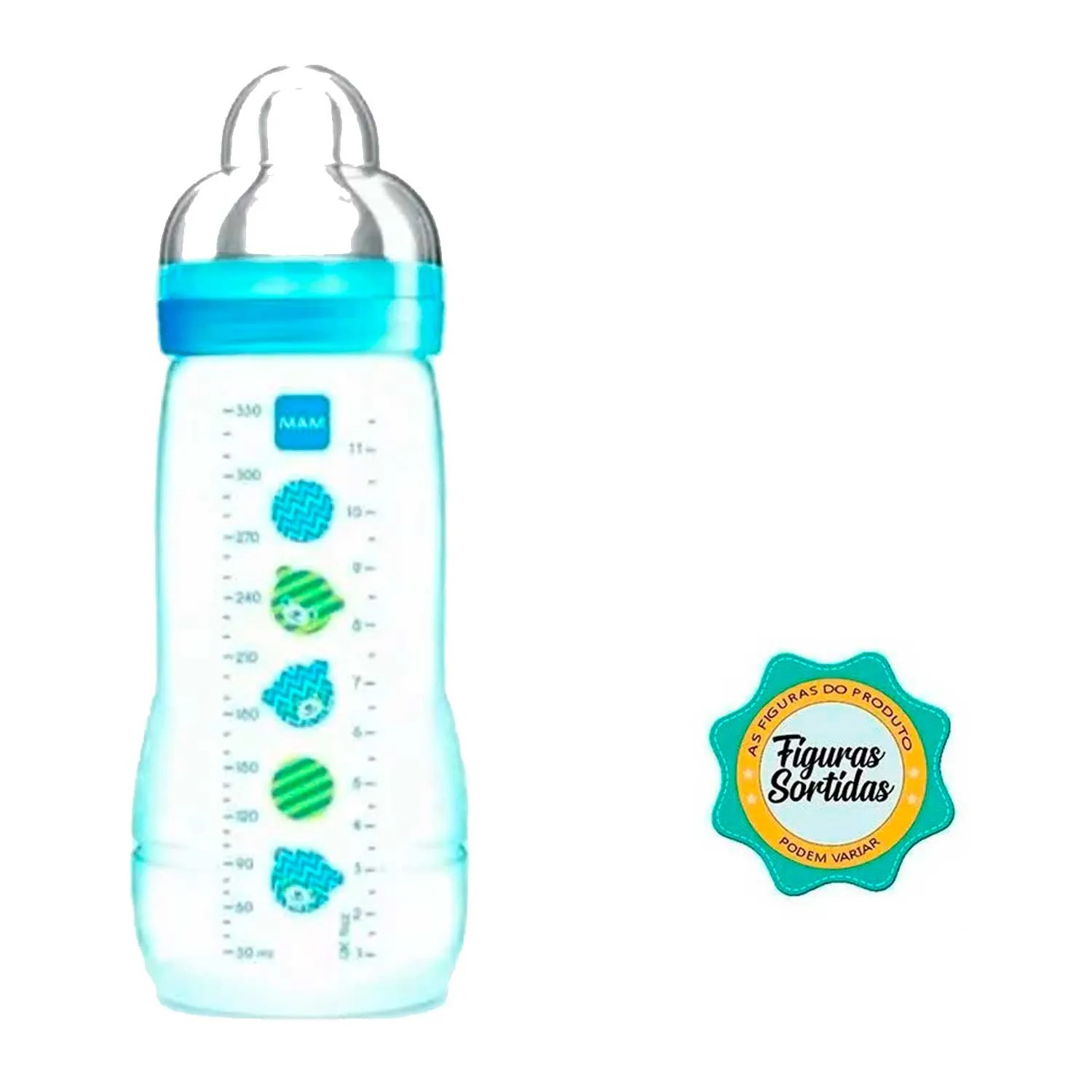 MAMADEIRA EASY ACTIVE FASHION BOTTLE MAM REF:4833 330ML 4 M+