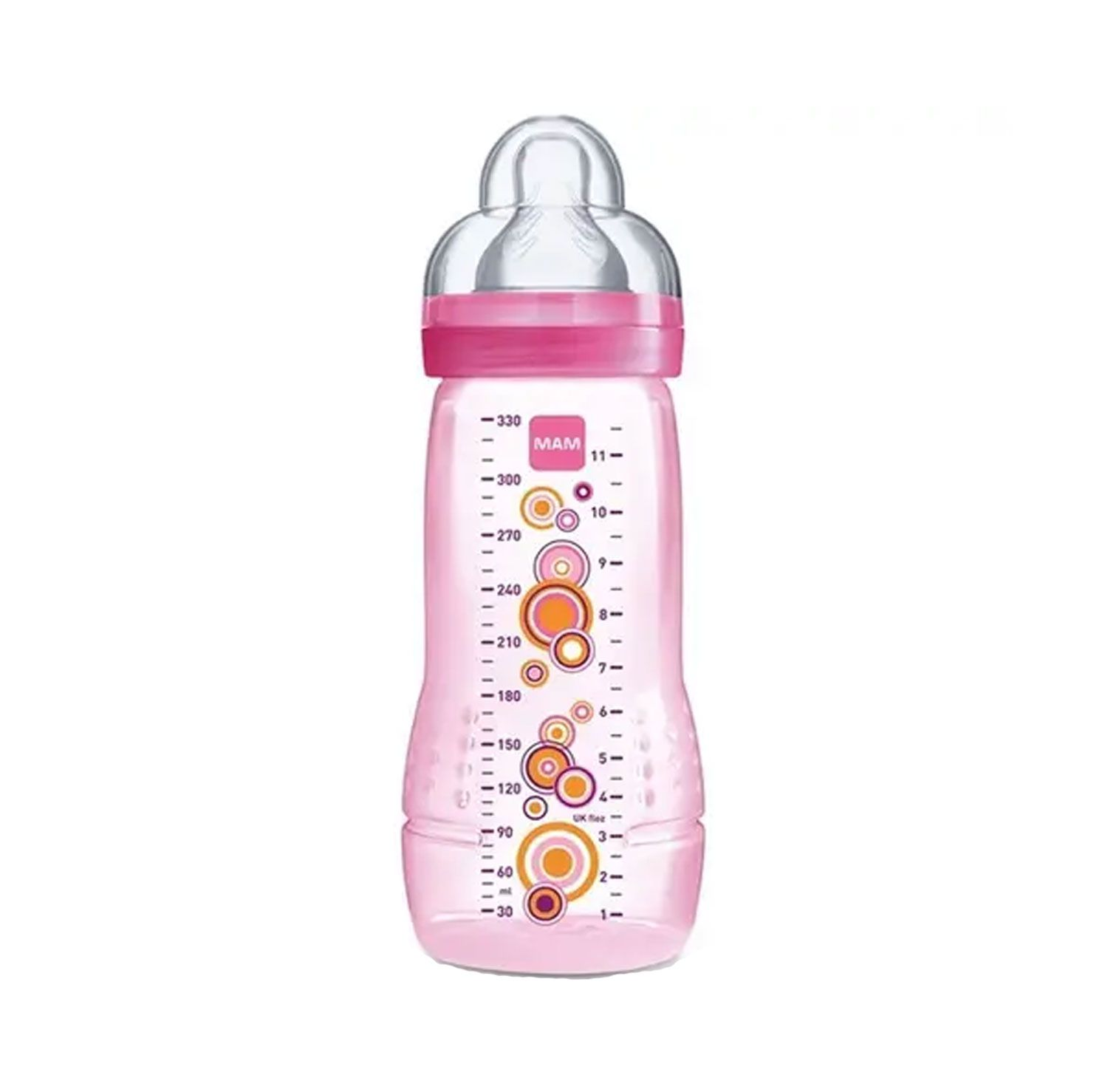MAMADEIRA EASY ACTIVE FASHION BOTTLE MAM REF:4834 330ML 4 M+