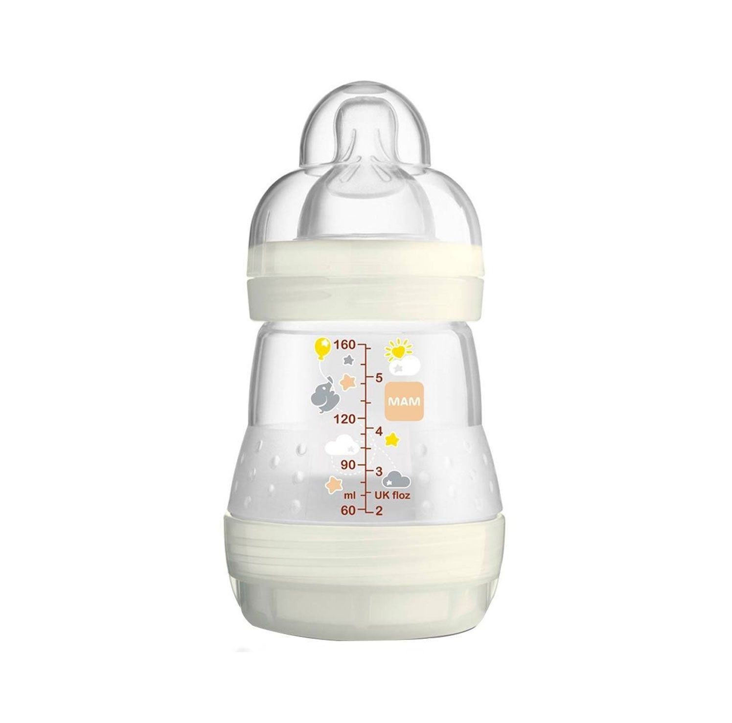 MAMADEIRA EASY FIRST BOTTLE MAM REF:4652 160 ML 0M+