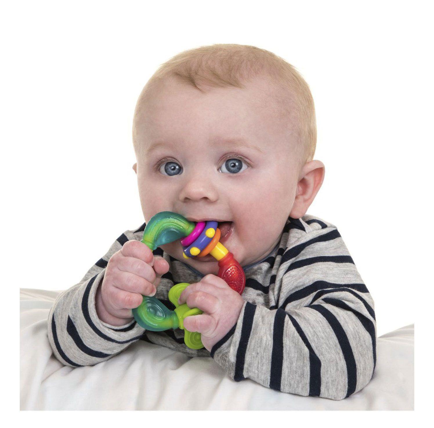 MORDEDOR INFANTIL TRIANGULO NUBY REF:NB00664