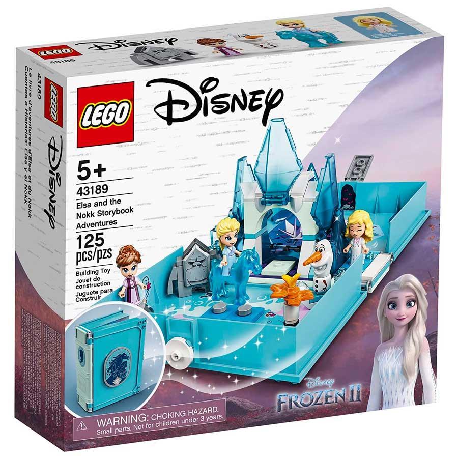 O LIVRO DE AVENTURAS DE ELSA E NOKK LEGO REF:43189