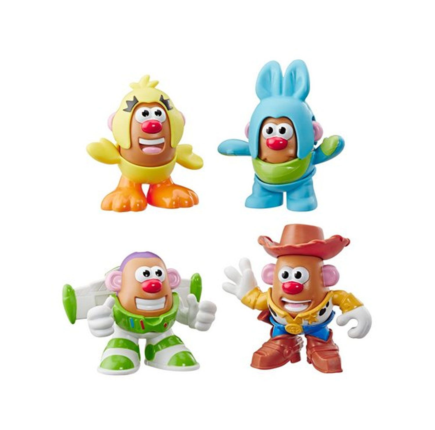 PACK MINI BONECOS MR POTATO HEAD TOY STORY 4 HASBRO REF:3065