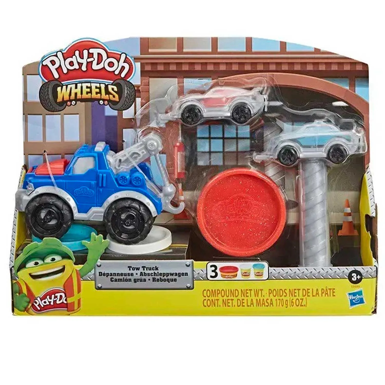 PLAY-DOH WHEELS REBOQUE HASBRO REF:E6690 3 ANOS +