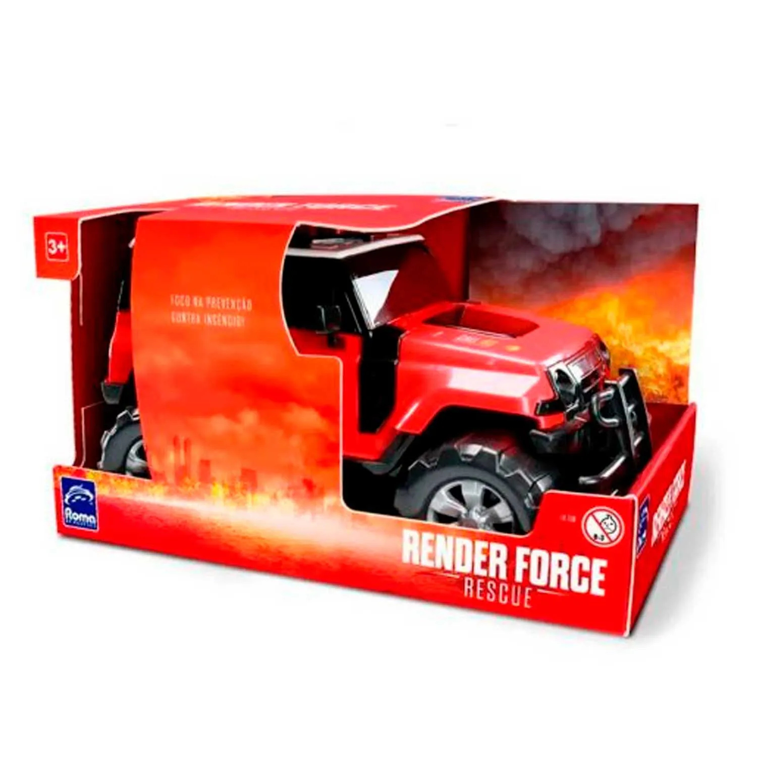 RENDER FORCE RESCUE ROMA REF:1018 3 ANOS +