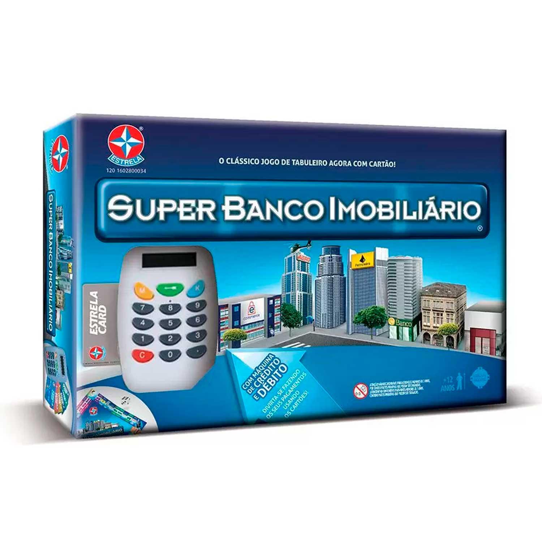 SUPER BANCO IMOBILIÁRIO ESTRELA REF:1201602800034