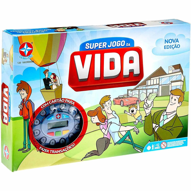 SUPER JOGO DA VIDA ESTRELA +12 ANOS REF:1201602900068