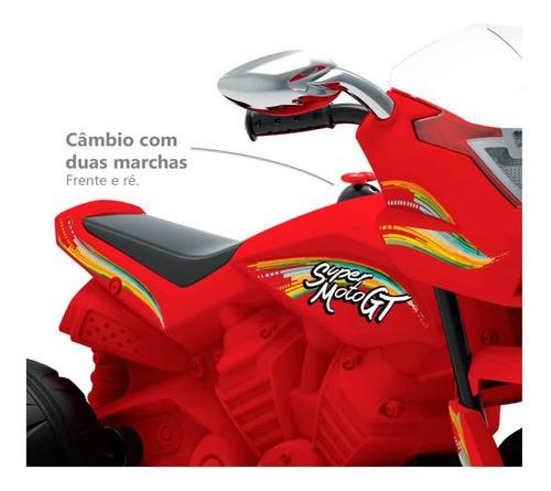 SUPER MOTO ELÉTRICA GT 6V BANDEIRANTE REF:2656
