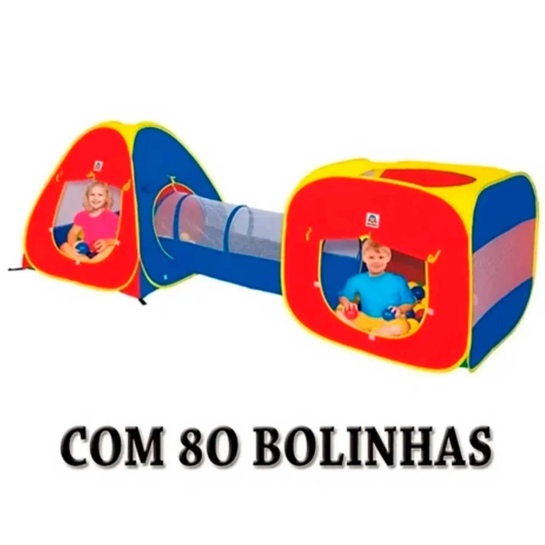 TOCA 3 EM 1 COM 80 BOLINAS BRASKIT REF:4600 4 ANOS +