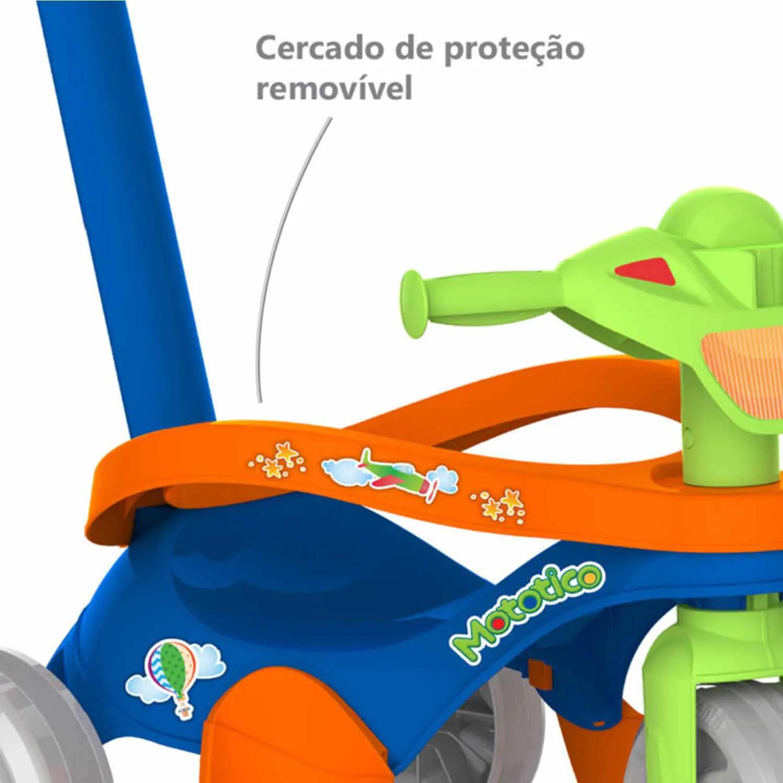 TRICICLO MOTOTICO PASSEIO E PEDAL BANDEIRANTE +12 MESES  REF:692