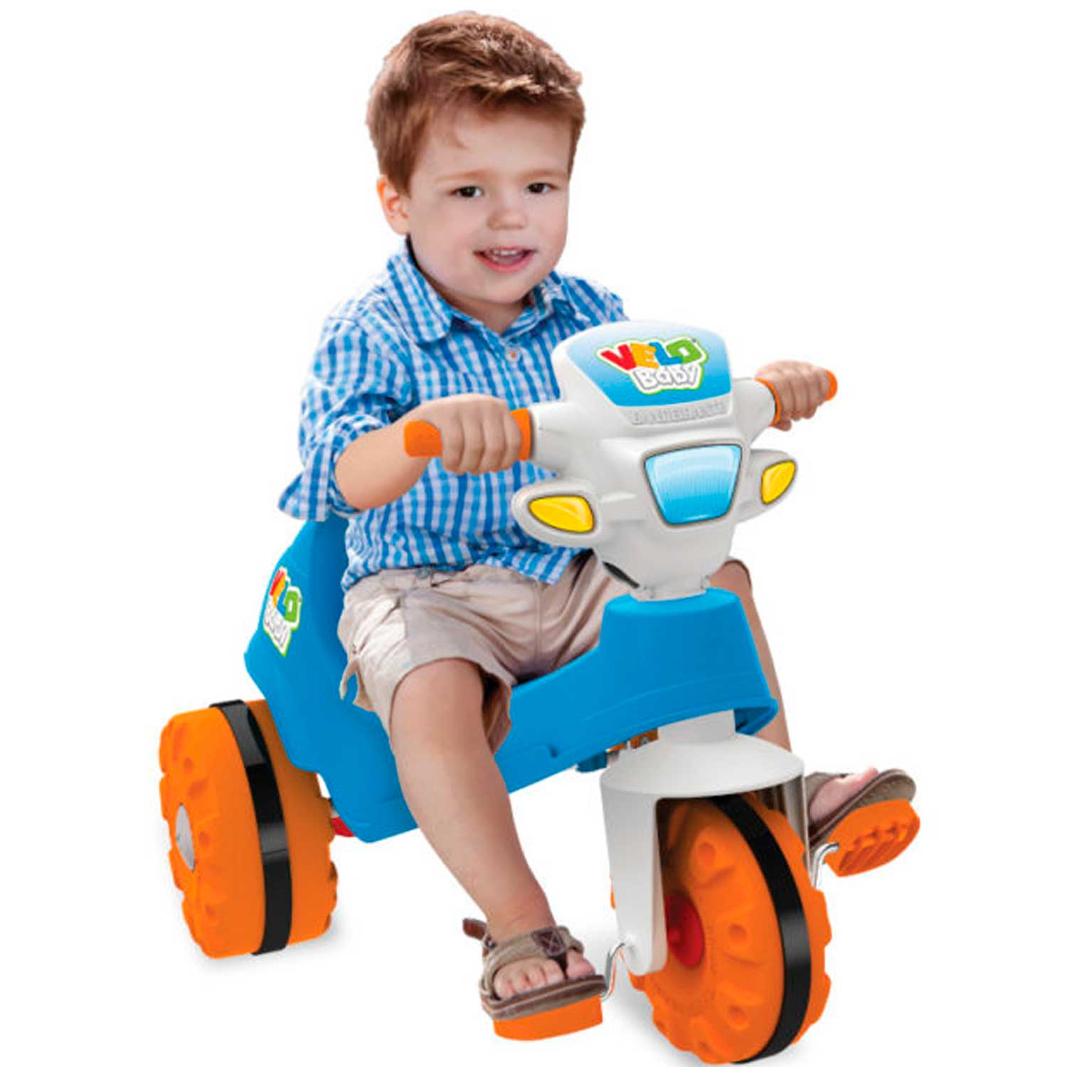 TRICICLO VELOBABY A PEDAL 1A+ BANDEIRANTE REF:206