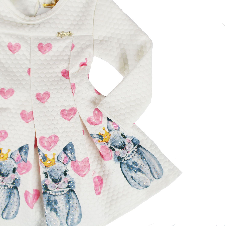 VESTIDO MANGA LONGA PARA BEBÊ INFANTI REF:38076 1/3