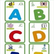 Papel De Parede Alfabeto Com Bichinhos Coloridos PPI0059