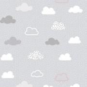 Papel de Parede Nuvens CINZA PPI0129