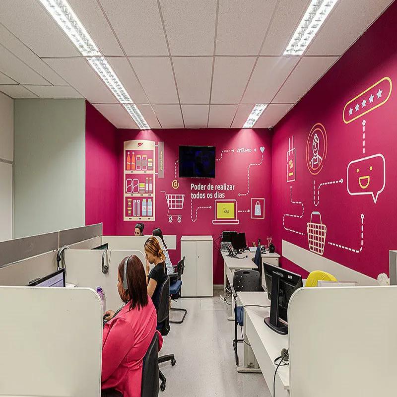 Adesivos Personalizado para empresas,shoppings,lojas e franquias  - Papel de parede - G3decora