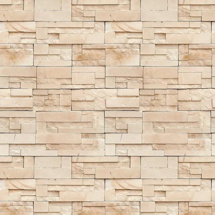 Papel De Parede Autocolante Pedras Neutras Canjiquinha PPT0031  - Papel de parede - G3decora