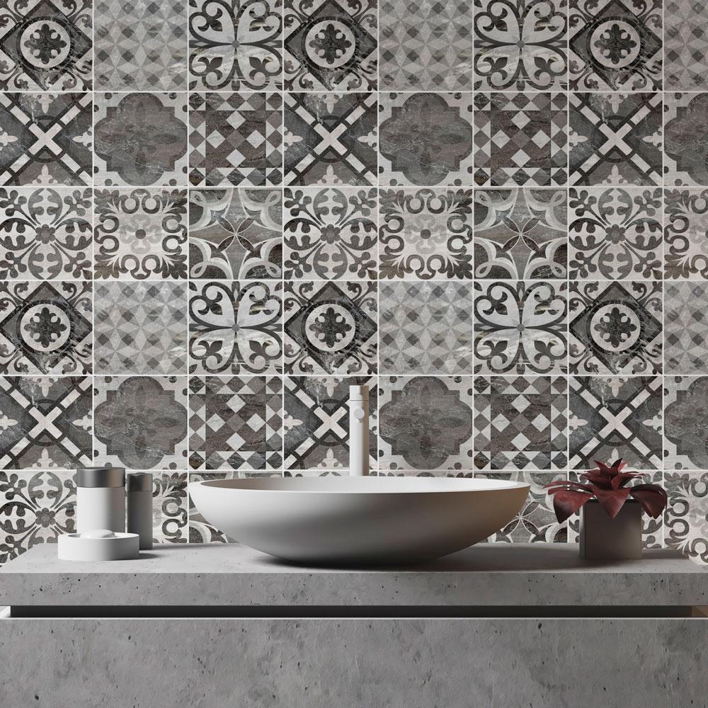 Papel de Parede Azulejo lavável vinílico - PPA0002  - Papel de parede - G3decora