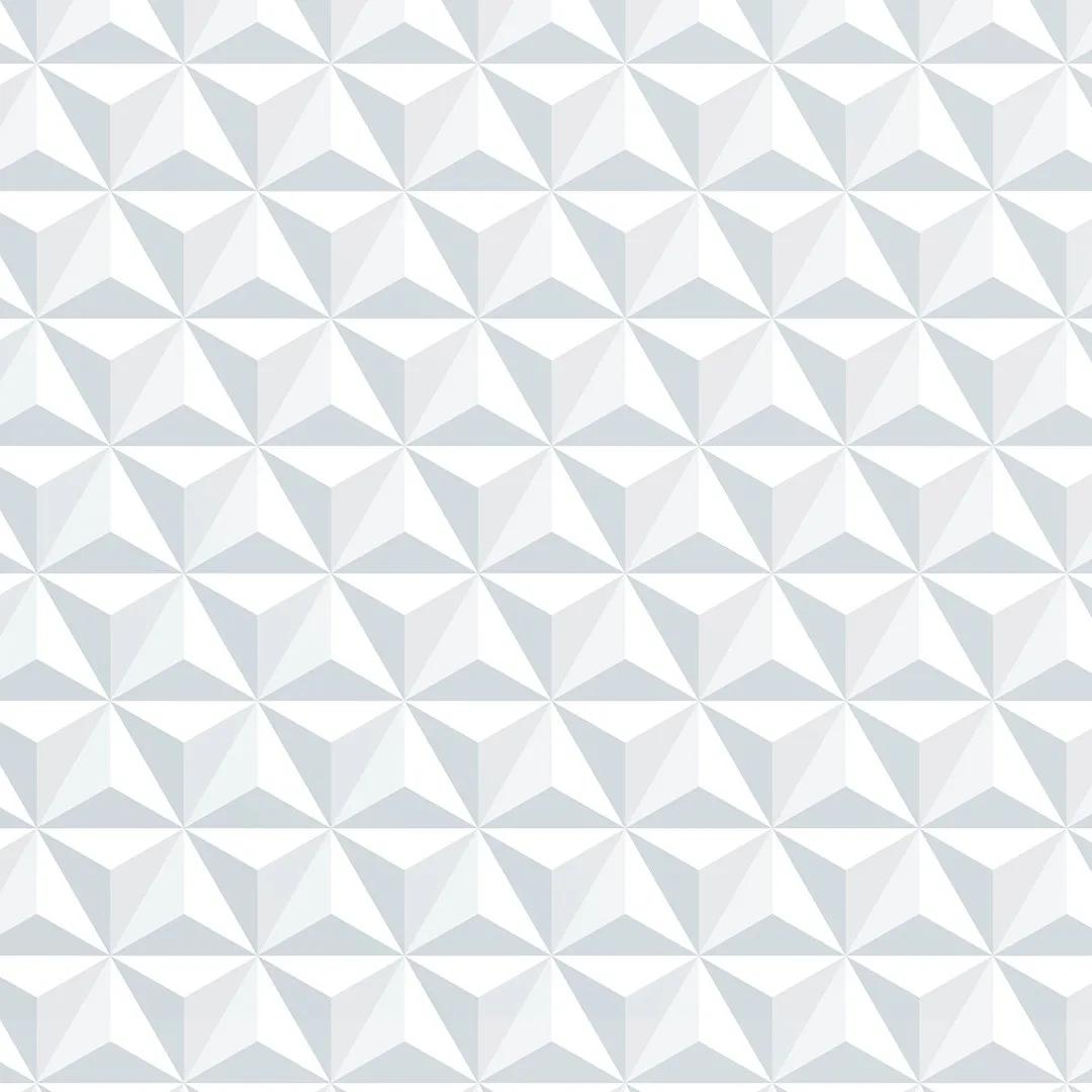 Papel de Parede Geométrico Gelo 3D - PPG0004  - Papel de parede - G3decora