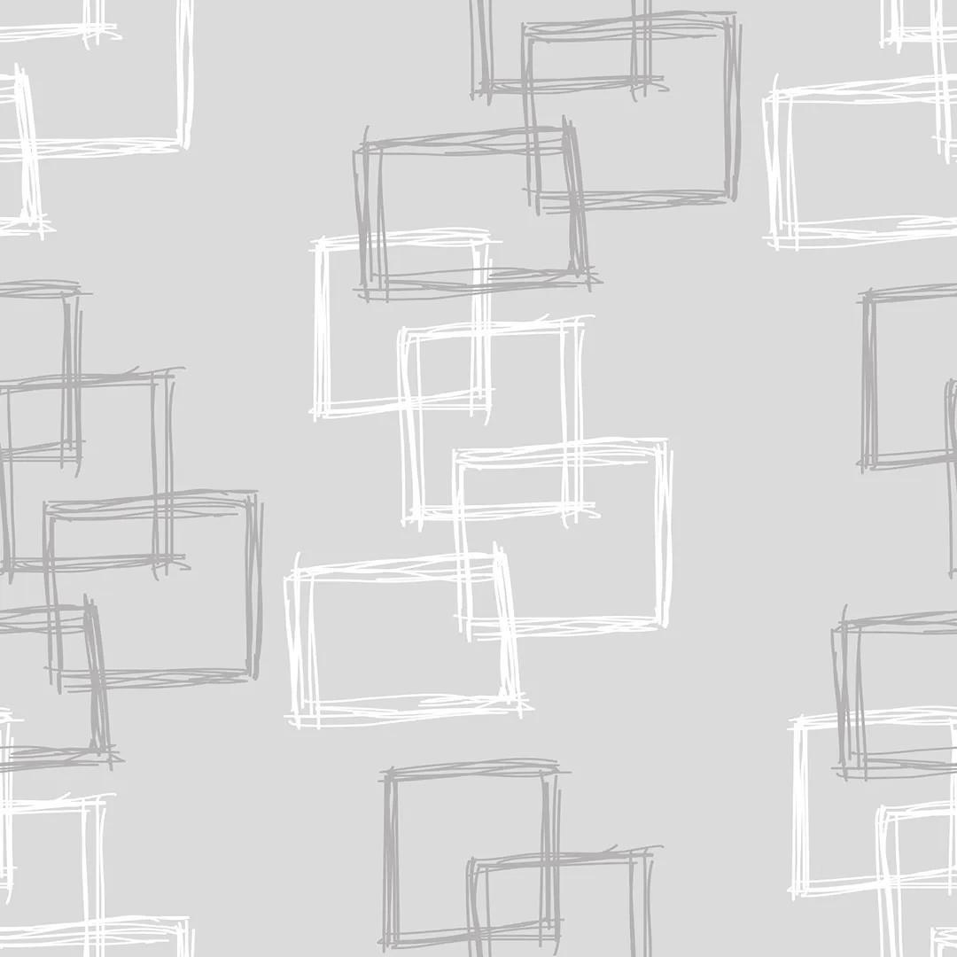 Papel de Parede Geométrico Retângulo 3D - PPG0010  - Papel de parede - G3decora