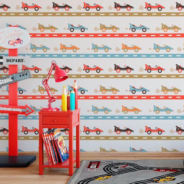 Papel de parede infantil – ID039000124  - Papel de parede - G3decora