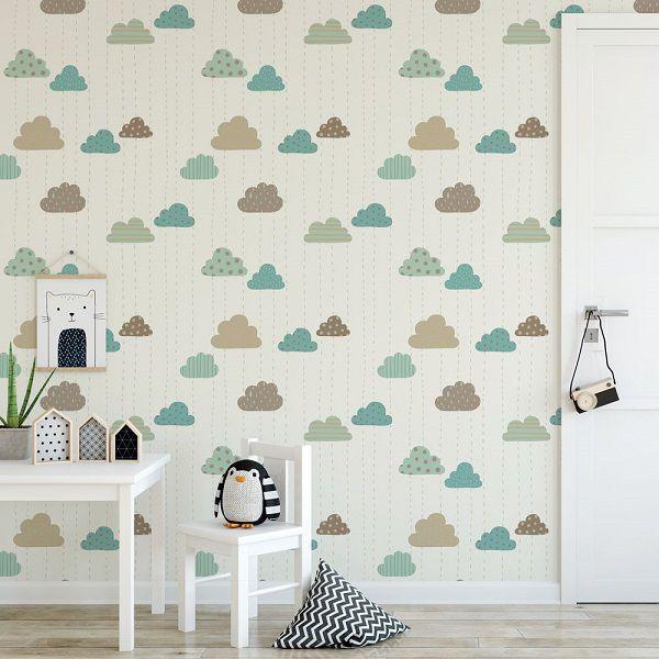 Papel de parede infantil  – ID257475826  - Papel de parede - G3decora