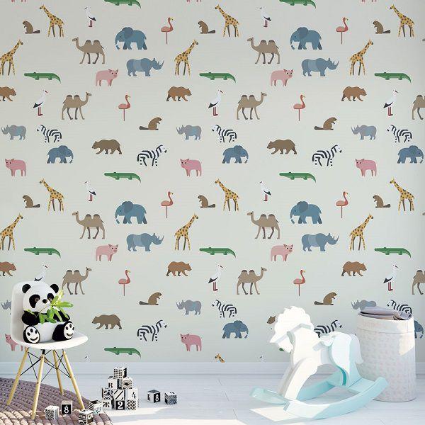 Papel de parede infantil  – ID039000131  - Papel de parede - G3decora