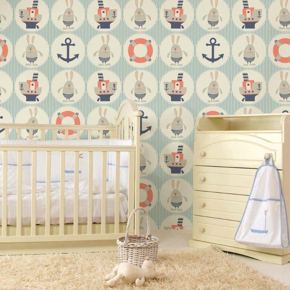 Papel de parede infantil  – ID203948491