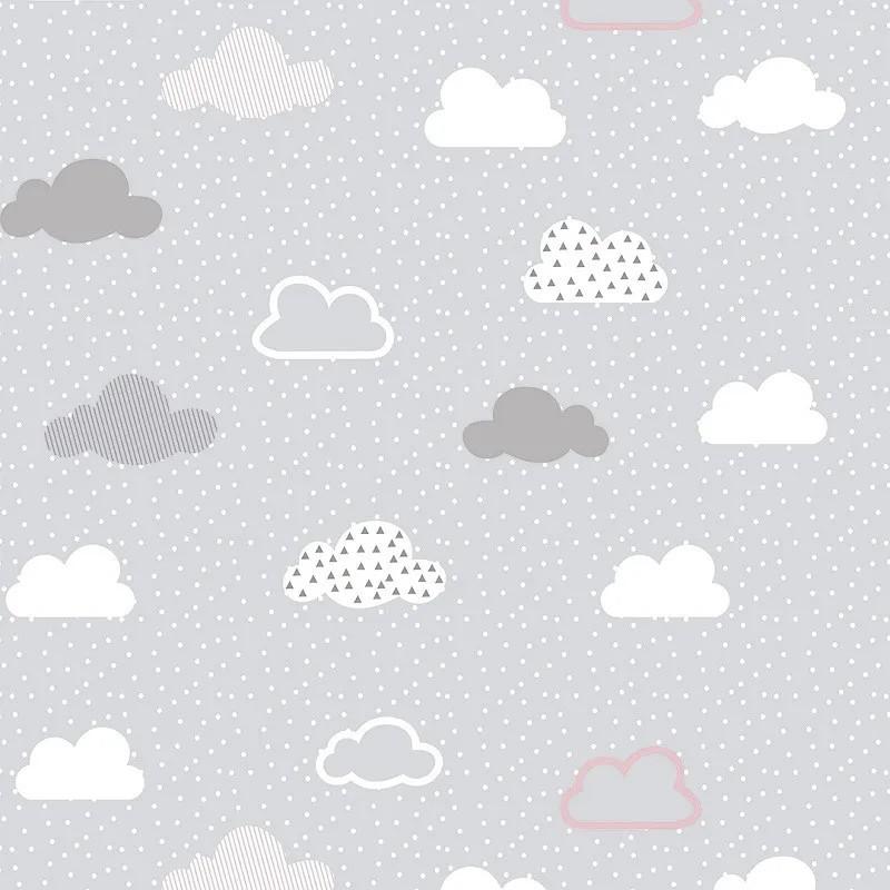 Papel de Parede Nuvens CINZA PPI0129  - Papel de parede - G3decora