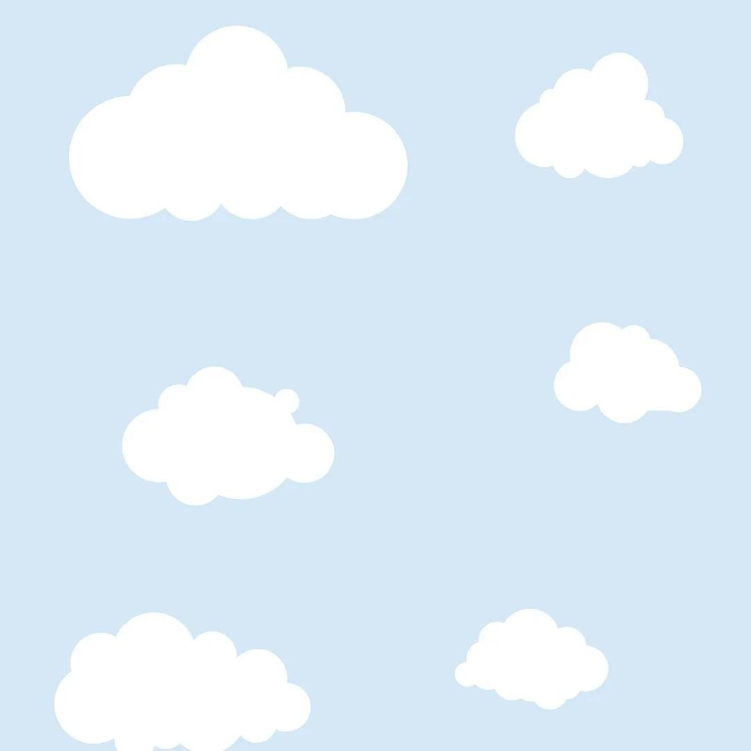 Papel de Parede Nuvens no Cinza PPI0103  - Papel de parede - G3decora