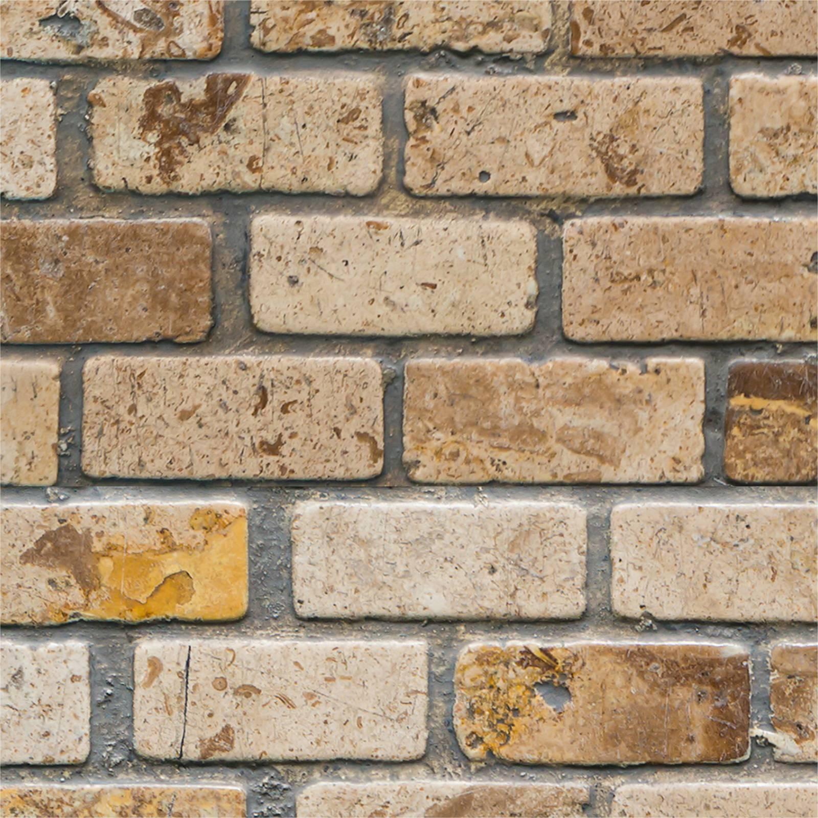 Papel de Parede Tijolo lavável vinílico - PPI0001  - Papel de parede - G3decora