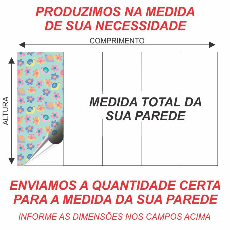 PAPEL DE PAREDE VINÍLICO  – ID06014528  - Papel de parede - G3decora