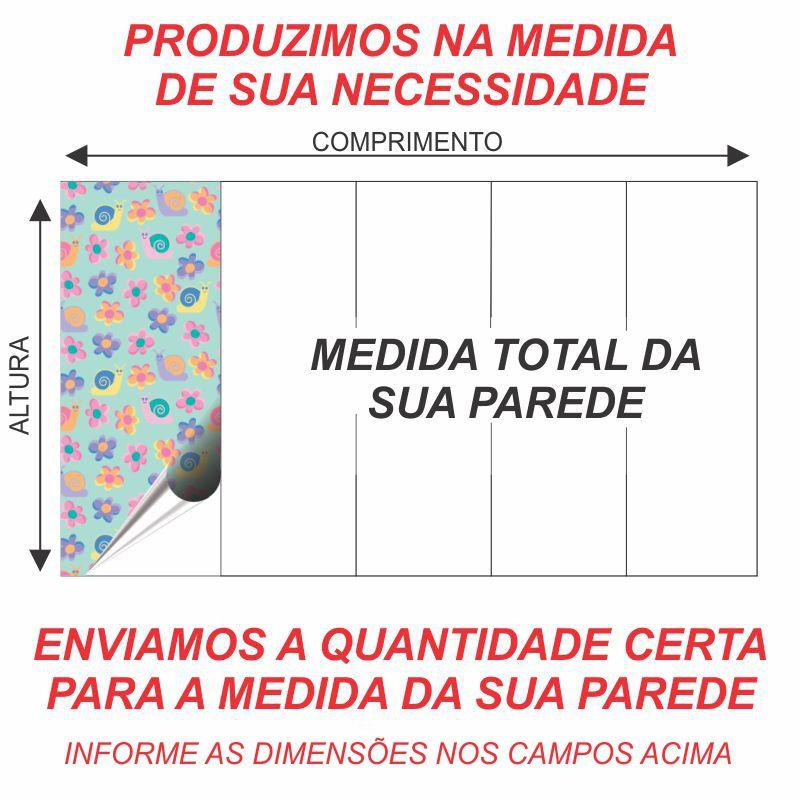 PAPEL DE PAREDE VINÍLICO  – ID07448581  - Papel de parede - G3decora