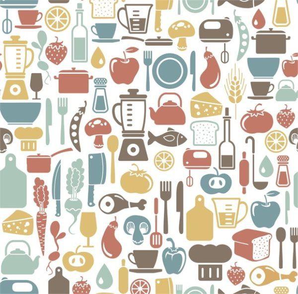 Papel de parede cozinha  – ID20679870  - Papel de parede - G3decora
