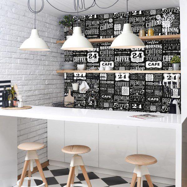 Papel de parede cozinha  – ID86988370  - Papel de parede - G3decora