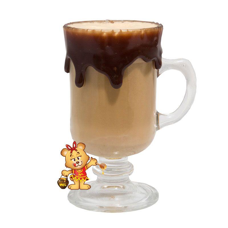 Affogato com Borda de Nutella  - www.doceriamirabella.com.br