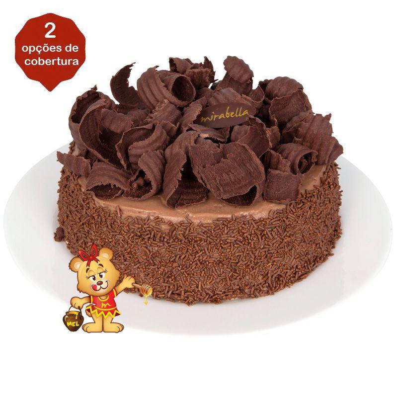 Bolo de Chocolate (a partir de 700g)  - www.doceriamirabella.com.br