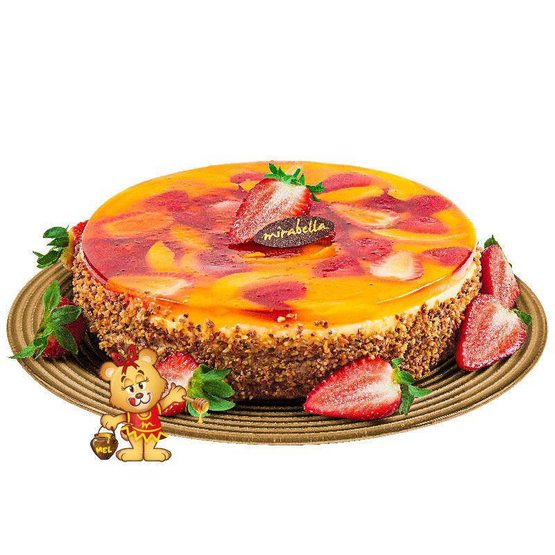 Bolo Delícia de Frutas  - www.doceriamirabella.com.br