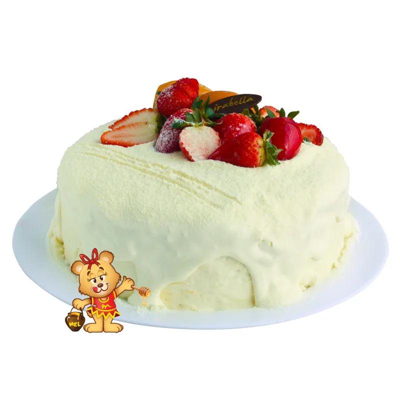 Bolo Irresistível de Frutas  - www.doceriamirabella.com.br