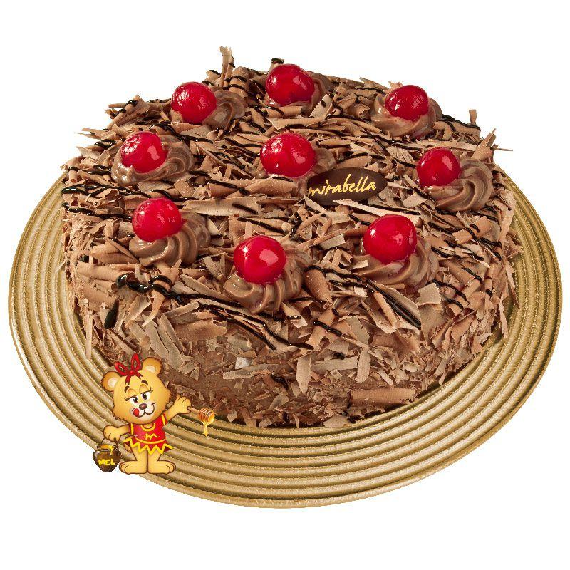 Bolo Mousse de Chocolate (a partir de 700g)  - www.doceriamirabella.com.br