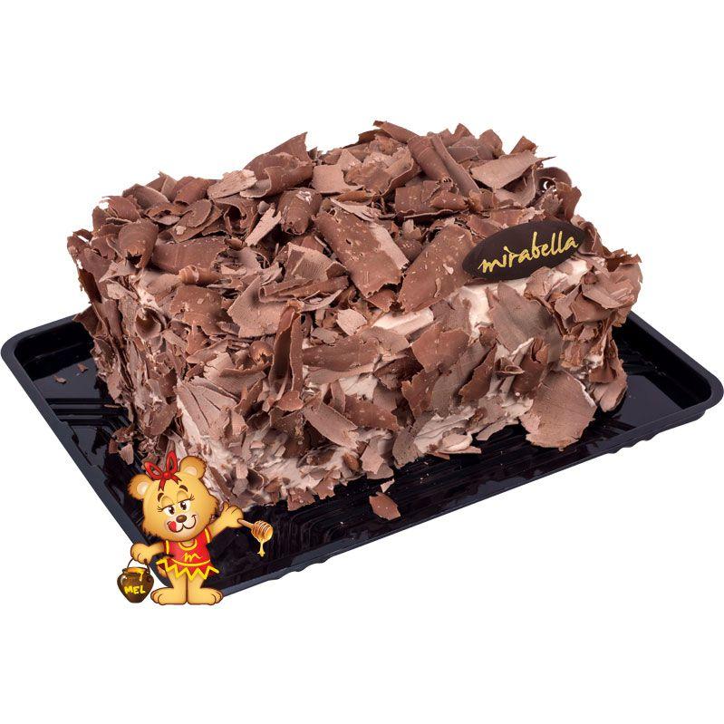Bolo Mousse de Chocolate - 600g  - www.doceriamirabella.com.br