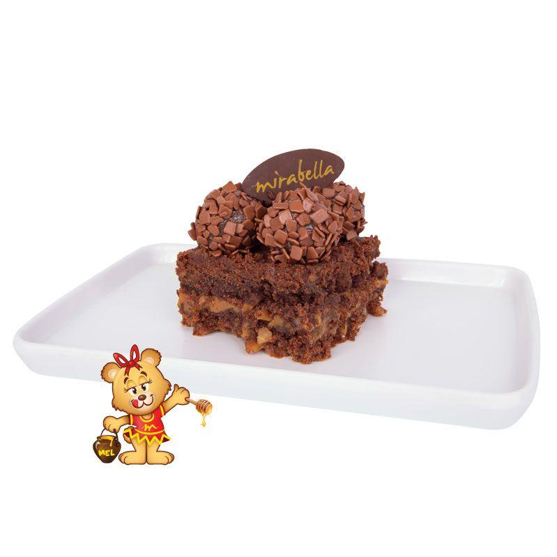 Brownie Brigadeiro  - www.doceriamirabella.com.br