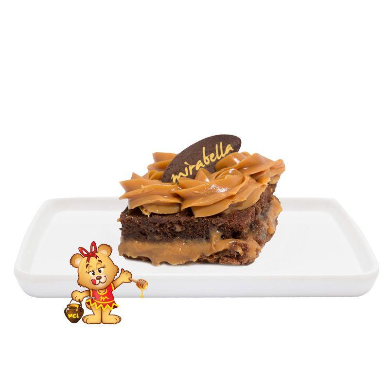Brownie Doce de Leite  - www.doceriamirabella.com.br