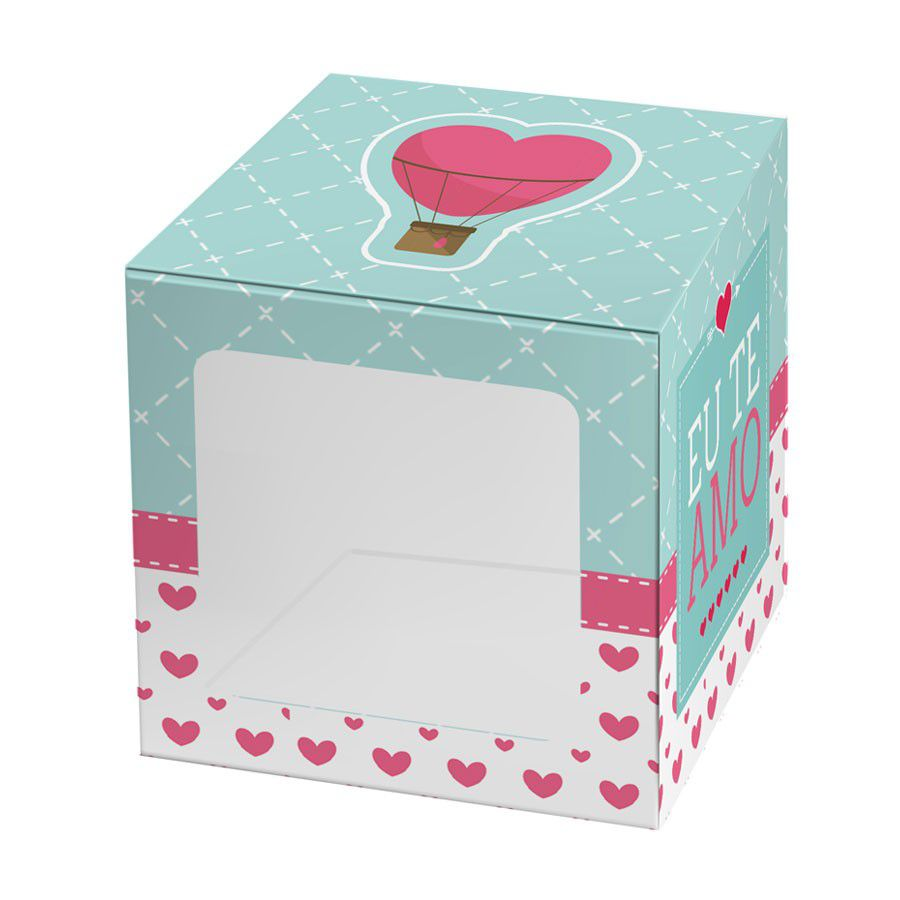 Caixa para 1 Doce Amor - 4 unidades  - www.doceriamirabella.com.br