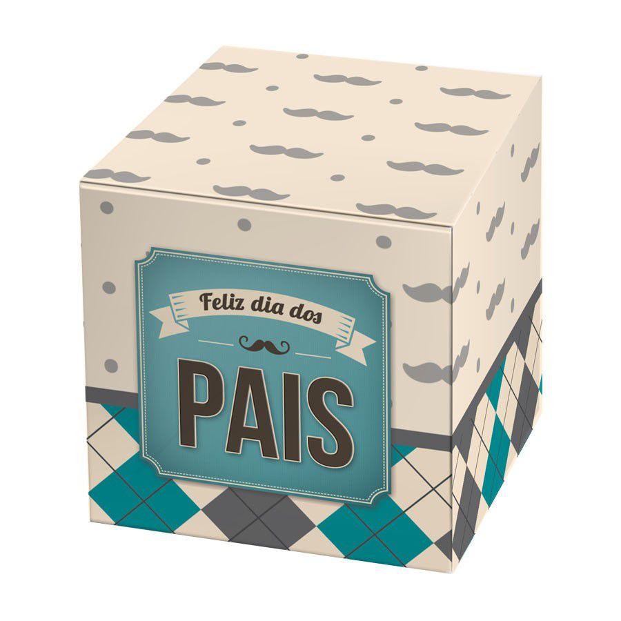 Caixa para 1 Doce Dia dos Pais - 4 unidades  - www.doceriamirabella.com.br