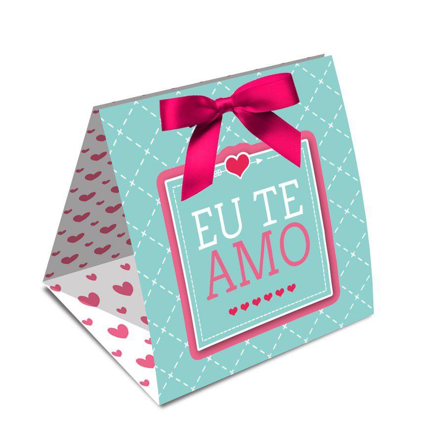 Caixa para 1 Trufa Amor - 12 unidades  - www.doceriamirabella.com.br